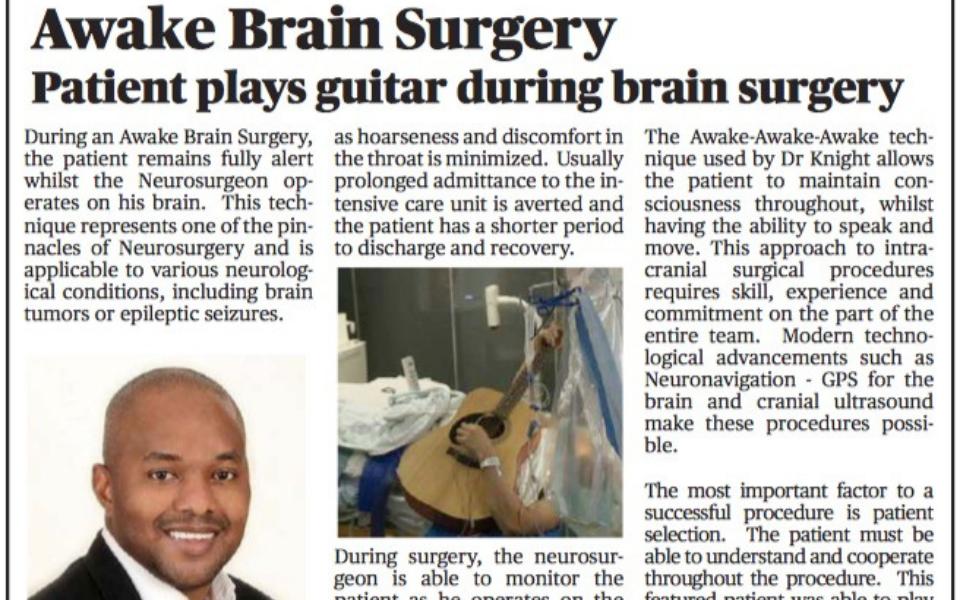 Awake Brain Surgery