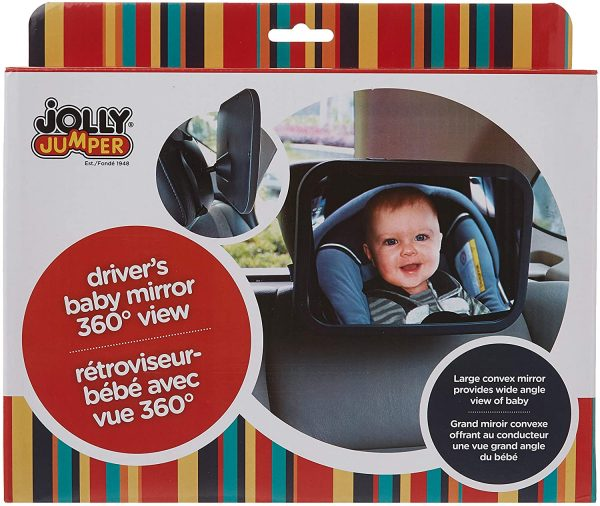 Jolly Jumper Drivers baby Mirror 360 View